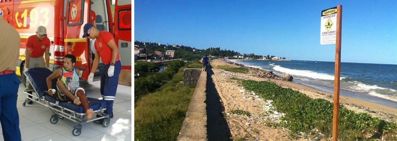 Diego Gomes Mota (23) foi atacado nesta terça-feira 31 enquanto surfava com amigos na praia Del Chifre, em Olinda; ferido na perna, ele foi socorrido e o seu estado de saúde é considerado estável; este é o 60º caso de ataque em Pernambucodesde 1992, quando as ocorrências do gênero passaram a ser acompanhadas