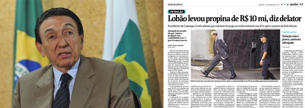 """Pierpaolo Bottini, que defende Dalton Avancini, da Camargo Corrêa, desmente reportagem da Folha, que atribui a seu cliente a revelação de que o ex-ministro de Minas e Energia, Édison Lobão, teria recebido R$ 10 milhões de propina em Belo Monte; """"não houve depoimento e nenhum nome foi citado, portanto, só há especulação"""", disse ele ao 247"""