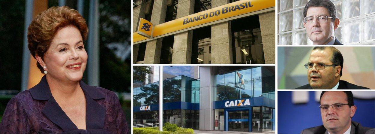 """Presidente Dilma Rousseff adiou anúncio de sua nova equipe econômica, que ocorreria nesta sexta (21), porque deseja fazer a apresentação completa, incluindo, além dos titulares da Fazenda, Planejamento e Banco Central, os nomes dos presidentes do Banco do Brasil e da Caixa Econômica Federal; informação é da jornalista Tereza Cruvinel na postagem mais recente do seu blogno 247; """"O pacote completo deve reforçar as percepções positivas do mercado, deixando porém claro que os bancos públicos continuarão tendo um papel importante"""", diz; com Levy, Tombini e Barbosa, presidentesugere mudanças importantes, no segundo mandato, na orientação da política econômica e em sua própria conduta"""