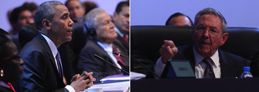 """Declaração foi feita pelo presidente dos Estados Unidos durante a Cúpula das Américas, no Panamá; ele deve ter um encontro com o presidente de Cuba ainda neste sábado; Raúl Castro disse que Obama está """"isento"""" da culpa de seus antecessores;ontem, na abertura da cúpula, os dois protagonizaram um encontro histórico, depois de mais de cinco décadas de congelamento nas relações entre os dois países"""