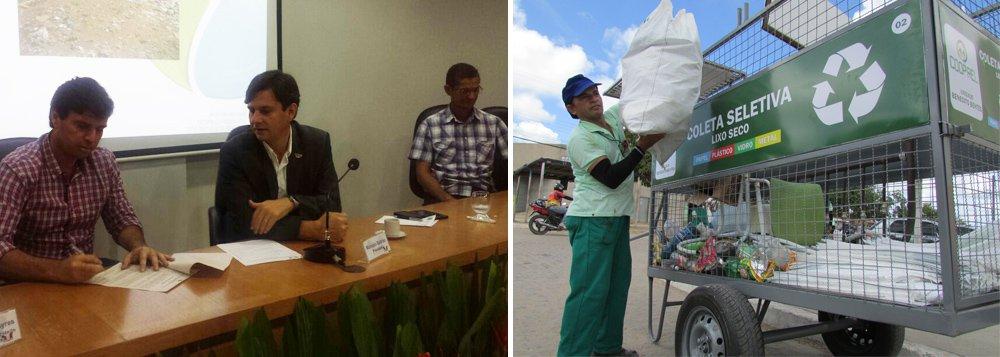 Quatorze municípios alagoanos aderiram a um plano de coleta seletiva de resíduos sólidos; mas, o prazo de implantação não foi apresentado; o Estado irá fornecer um grupo para capacitação nas cidades