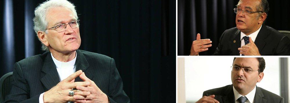 """A Conferência Nacional dos Bispos do Brasil (CNBB), junto com a Ordem dos Advogados do Brasil (OAB),pediu nesta quarta-feira 25 a retomada do julgamento sobre a proibição de doações de empresas privadas para campanhas políticas, travado há quase um ano por um pedido de vista do ministro Gilmar Mendes; os representantes das entidades reuniram-se com o presidente do STF, Ricardo Lewandowski; """"Estamos vendo a realidade nua e crua da influência do financiamento das empresas. Estamos todo dia no noticiário e gostaríamos de ver resolvida essa questão. Creio que Supremo poderá nos dar luz e ajudar a sociedade"""", disse osecretário-geral da CNBB, Leonardo Steiner"""
