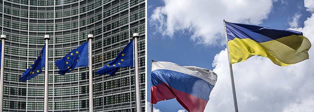 Ministros de Relações Exteriores da União Europeia mostraram pouca disposição para aumentar a pressão sobre a Rússia no caso da Ucrânia, preferindo dar uma chance a um frágil acordo de cessar-fogo antes de decidir pela aplicação de mais sanções ou pela extensão das já existentes; segundo eles, a UE deveria considerar apertar as sanções caso o acordo de cessar-fogo seja seriamente violado por uma ofensiva separatista no porto ucraniano de Mariupol