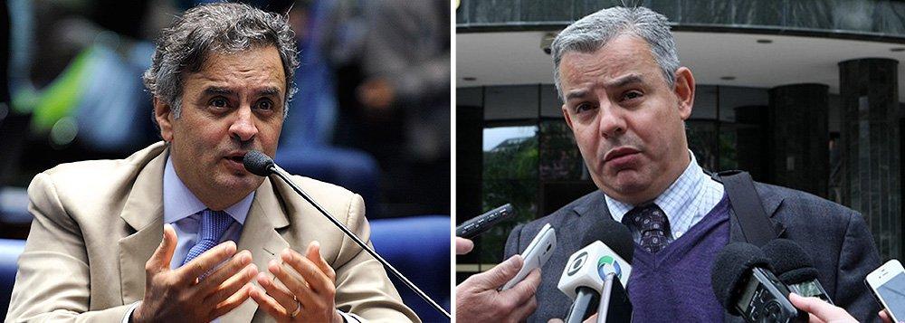 """'Importante dizer que o Youssef nunca falou espontaneamente do Senador Aécio Neves, em razão de que não o conhece e nunca teve com ele qualquer tipo de relação ou negócio. Quando questionado sobre fatos envolvendo o ex-deputado federal José Janene, Youssef esclareceu que nunca esteve com o senador Aécio Neves ou com sua irmã, e que somente """"ouviu dizer"""", que Aécio teria """"negócios"""" ou influências em Furnas, sem contudo indicar um fato concreto que justificasse tal suspeita', afirmou oadvogado Figueiredo Basto sobre as suspeitas de envolvimento do senador Aécio Neves (PSDB-MG) no esquema do doleiro"""