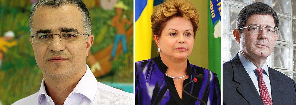 """Jornalista Kennedy Alencar informa que a presidente Dilma Rousseff decidiu participar do Congresso do PT em Fortaleza, sexta e sábado, num sinal concreto de que ampliará seu diálogo com o PT; lá, fará a defesa de Joaquim Levy, o novo ministro da Fazenda, e defenderá um """"ajuste gradual""""; ela também levará outra mensagem ao partido, sobre a necessidade de ceder espaço a aliados"""