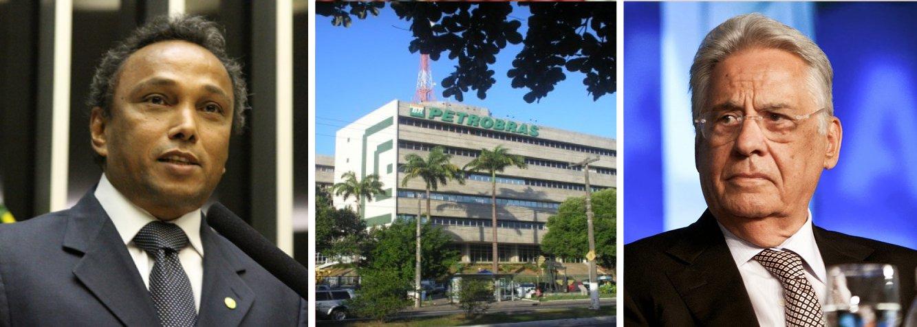 """O líder do PT na Câmara, Sibá Machado, e um grupo de deputados do partido, entregaram nesta quarta (11) à vice-procuradora-geral da República, Ela Wiecko, um pedido para que o MP investigue casos de corrupção e o pagamento de propina na Petrobras no período em que Fernando Henrique Cardoso (PSDB) foi presidente da República (1994-2002); pedido se baseia em delação do ex-gerente da companhia Pedro Barusco, que disse que começou a receber propina ainda em 1997; os deputados alegam que a investigação estaria ocorrendo de forma """"dirigida e ilegal"""" com fins """"político-partidários"""" nos processos da Lava Jato; ogrupo também entregou o pedido de investigação à Polícia Federal e ao Ministério da Justiça"""