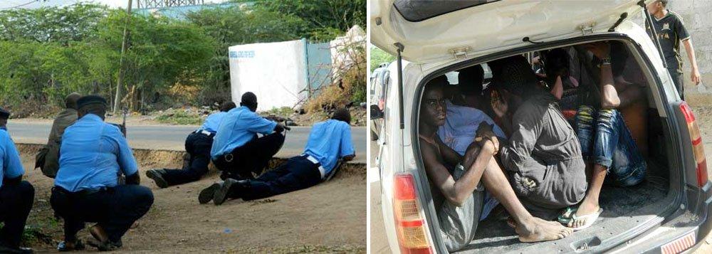 """Pelo menos 14 pessoas teriam morrido nesta quinta-feira em um ataque de militantes islâmico a uma universidade perto da fronteira do Quênia com a Somália, fazendo estudantes cristãos de reféns e enfrentando as forças de segurança por várias horas; grupo militante somali Al Shabaab, que tem ligação com a Al Qaeda, assumiu a autoria do ataque realizado antes do amanhecer e disse que mantinha vários reféns cristãos """""""