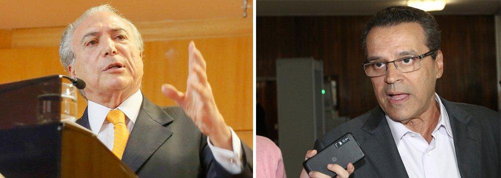 """O vice-presidente da República, Michel Temer (PMDB) disse, que o partido deverá anunciar a ida do ex-deputado Henrique Eduardo Alves (PMDB-RN) para o comando do Ministério do Turismo ainda esta semana; """"Essas coisas são conversáveis, são fruto de diálogo. Vamos acertar nesta semana"""", disse"""