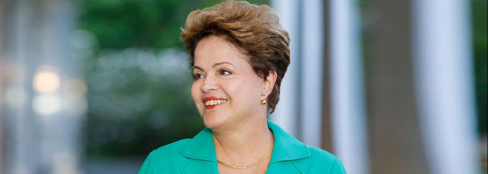 Brasília - DF, 13/10/2014. Dilma Rousseff durante a entrevista coletiva. Foto: Ichiro Guerra/ Dilma 13
