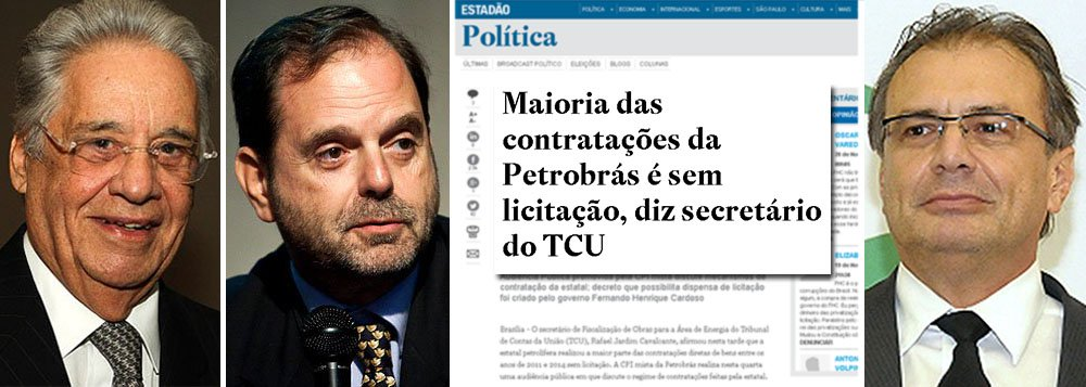 """Conhecida como """"Lei do Petróleo"""", a Lei 9478/97, idealizada por David Zylberstajn, ex-presidente da Agência Nacional do Petróleo, e pelo ex-presidente Fernando Henrique Cardoso, fragilizou os critérios de governança da Petrobras; até então, as contratações da companhia estavam submetidas à rigorosa Lei 8.666, de licitações; com a abertura do mercado brasileiro de petróleo a firmas internacionais, feita por FHC e Zylberstajn, ex-genro do ex-presidente, a Petrobras ganhou o direito de contratar sem licitações; só nos últimos quatro anos, foram R$ 70 bilhões, segundo o TCU; FHC hoje se diz """"envergonhado"""", mas sua lei contribuiu para a ascensão de personagens como Pedro Barusco, o gerente da companhia que se tornou o corrupto de US$ 100 milhões, que contratou bilhões nos últimos anos"""