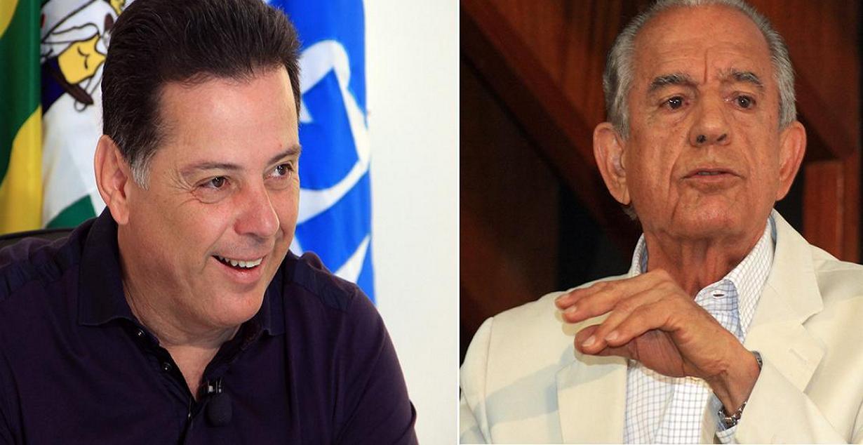 Terceira rodada do Ibope divulgada na noite desta quarta-feira pela TV Anhanguera mostra governador Marconi Perillo (PSDB) com 10 pontos de vantagem sobre Iris Rezende (PMDB) na disputa pelo governo do Estado; Vanderlan Cardoso (PSB) vem na sequência e tem 9%, seguido por Antônio Gomide (PT), que obteve 7%