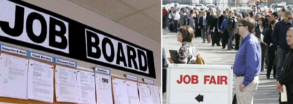 Criação de empregos nos Estados Unidos acelerou em fevereiro e a taxa de desemprego caiu para 5,5%, sinais que podem encorajar o Federal Reserve, banco central do país, a considerar elevar a taxa de juros em junho; no mês passado foram criadas 295 mil vagas após 239 mil em janeiro, em dado revisado para baixo, informou o Departamento do Trabalho nesta sexta-feira, 6; taxa de desemprego em janeiro era de 5,7%