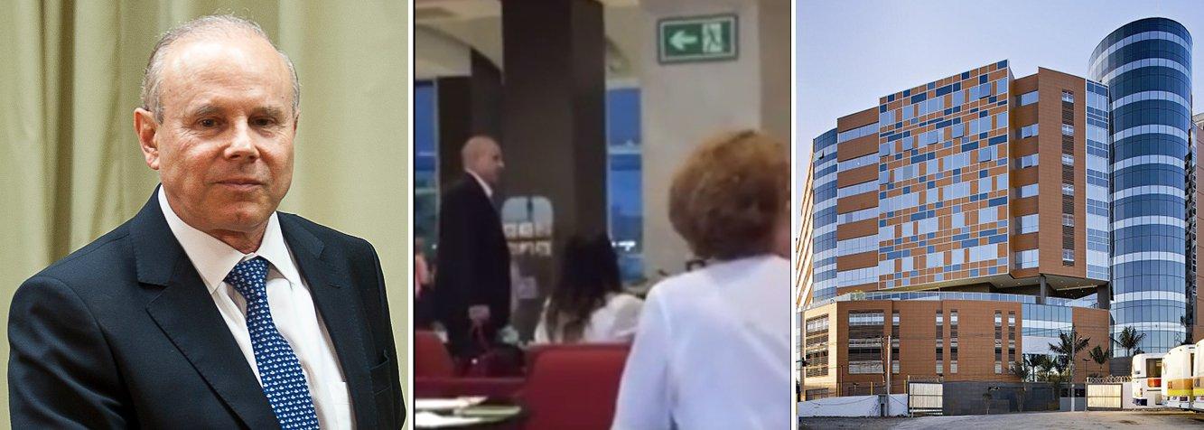 """Aos gritos de 'Vai pro SUS', o ex-ministro da Fazenda, Guido Mantega, foi expulso do hospital Albert Einstein, um dos mais renomados de São Paulo; vídeo mostra insultos ao ex-ministro, que se retirou do local; ele estava acompanhado da esposa Eliane Berger, que se trata de um câncer; intolerância política no Brasil atinge níveis inaceitáveis de incivilidade, que prenunciam um neofascismo no País; agressões têm sido promovidas por forças políticas que se mostram incapazes de conviver numa democracia; em nota, o Einstein disse que """"lamenta o fato ocorrido em seu ambiente"""" e que não identificou nenhum médico ou enfermeiro nas agressões"""