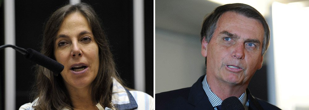"""Em nota de repúdio, a deputada Mara Gabrilli (PSDB-SP) condenou a agressão feita por Jair Bolsonaro (PP-RJ) a Maria do Rosário (PT-RS), quando disse que 'não a estupraria porque não merece'; """"É deplorável a insistência de Jair Bolsonaro em utilizar a Tribuna do Plenário da Câmara dos Deputados para fazer apologia à discriminação e incitar à violência contra as mulheres e os homossexuais"""", disse a deputada tucana; """"o deputado viola constantemente os princípios da igualdade de direitos e do respeito à dignidade humana"""""""
