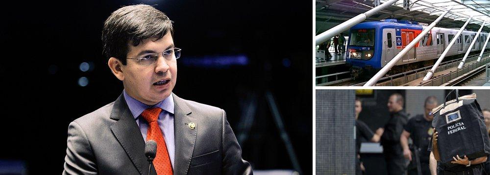 Segundo o senador Randolfe Rodrigues (Psol-AP), vice-presidente da comissão que investiga contas secretas na unidade suíça do banco, operadores de esquemas criminosos como a Lava Jato, o Metrô de São Paulo e o TRE desviaram dinheiro para à Suíça