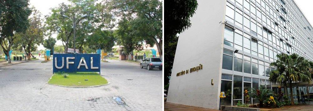 A Universidade Federal de Alagoas (Ufal) suspendeu as atividades desenvolvidas pelos estudantes bolsistas Pró-graduando (BPG), vinculados ao Painter (Programa de Ações Interdisciplinares) e os de Desenvolvimento Acadêmico Institucional (BDAI); motivo é o atraso do pagamento pelo não repasse por parte do Ministério da Educação (MEC)