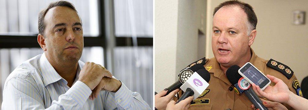 """Coronel César Kogut, que pediu exoneração do cargo na noite de ontem, uma semana após o massacre contra professores que deixou mais de 200 manifestantes feridos no Paraná, afirma em entrevista que o secretário de Segurança, que fez críticas ao cerco da Polícia Militar, """"conhecia"""" a ação e """"participou de tudo""""; """"A responsabilidade pelos atos, certos ou errados, é em conjunto entre a PM e quem esteve na execução do planejamento. Legalmente, a coordenação operacional pertence à Sesp [Secretaria Estadual da Segurança Pública]"""", disse"""