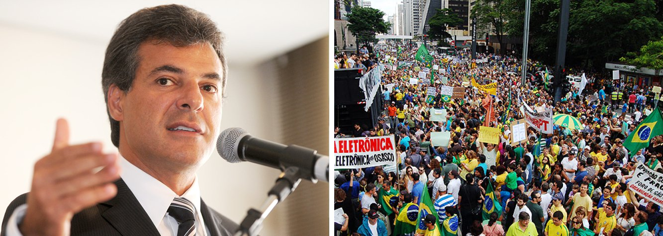 """O governador do Paraná, Beto Richa (PSDB), disse que não participará do ato programado para domingo (15) pelo impeachment da presidente Dilma Rousseff; segundo ele, impeachment é uma """"medida extrema""""; """"Fui coordenador da campanha de Aécio Neves [à Presidência] e fomos derrotados. Qualquer participação domingo pode parecer revanchismo"""", afirmou"""
