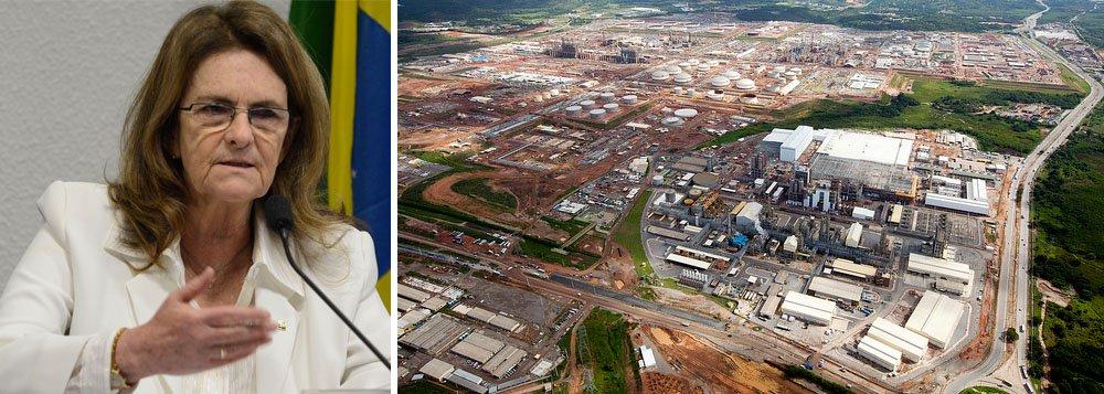 A licença de operação da Refinaria Abreu e Lima (Rnest), no Complexo Industrial e Portuário de Suape, em Pernambuco, deverá ser concedida pela Agência Nacional de Petróleo (ANP) ainda nesta segunda-feira (17); a informação foi repassada pela presidente da Petrobras, Graça Foster, durante teleconferência para divulgar os resultados operacionais da estatal
