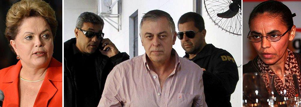 Candidata à reeleição, presidente Dilma Rousseff vai solicitar acesso ao depoimento de Paulo Roberto Costa, ex-diretor da Petrobras, para tomar providências em relação a membros do seu governo; no PSB, da presidenciável Marina Silva, o vice da chapa, deputado Beto Albuquerque (PSB-RS), já prepara defesa de Eduardo Campos, entre os suspeitos de recebimento de propina de contratos da estatal; ele vai usar argumento de que família do falecido tem sofrido com o caso e que o ex-governador sempre apoiou investigações de eventuais ilegalidades na empresa