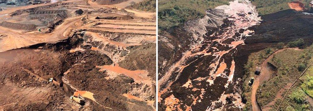 Três operários morreram após terem sido soterrados em uma mineradora que fica em Itabirito, a 55 km de Belo Horizonte; de acordo com o Corpo de Bombeiros, testemunhas relataram que cerca de dez veículos, entre carros pequenos, tratores e caminhões, foram atingidos por uma avalanche de lama e por rejeitos de mineração que estavam em uma barragem desativada que foi rompida