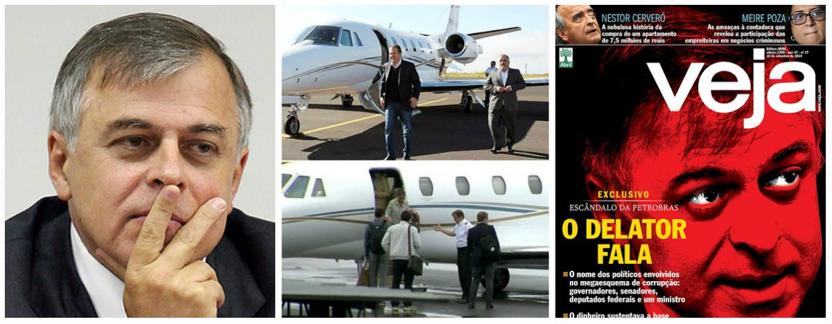 A citação de Eduardo Campos, ex-companheiro de Marina Silva na chapa do PSB, como um dos beneficiários do esquema denunciado por Paulo Roberto Costa, ex-diretor da Petrobras, em sua delação premiada pode explicar a compra do jato que caiu em Santos, matando o ex-governador pernambucano e outras seis pessoas; parte da compra da aeronave foi paga com recursos de uma das consultorias do doleiro Alberto Youssef, o que indica a utilização de caixa dois; Costa pressionava Campos para que ele fosse sua testemunha de defesa no processo; envolvimento do ex-presidente do PSB no caso dificultará a exploração política do novo escândalo pela ex-senadora Marina Silva
