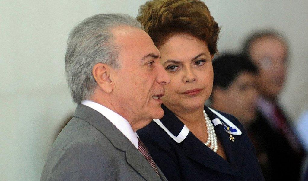 Após abertura de investigação contra 33 parlamentares da base aliada, presidente Dilma Rousseff teme agravamento da crise no Congresso; ela pedirá ao vice-presidente Michel Temer (PMDB) para que se integre à coordenação política na expectativa de 'acalmar' seus partidários; além disso, vai cobrar do PT apoio incondicional das medidas provisórias que restringem o acesso a benefícios trabalhistas e previdenciários