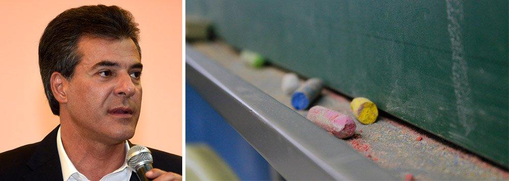 Na esteira do desabamento da popularidade de Beto Richa (PSDB), o eleitorado paranaense também reprova a política educacional do tucano; de acordo com sondagem da Paraná Pesquisas, 73% consideram ruim ou péssimo o desempenho do governador na educação; é a pior área avaliada, seguida da saúde (59%), segurança (54%) e social (46%)