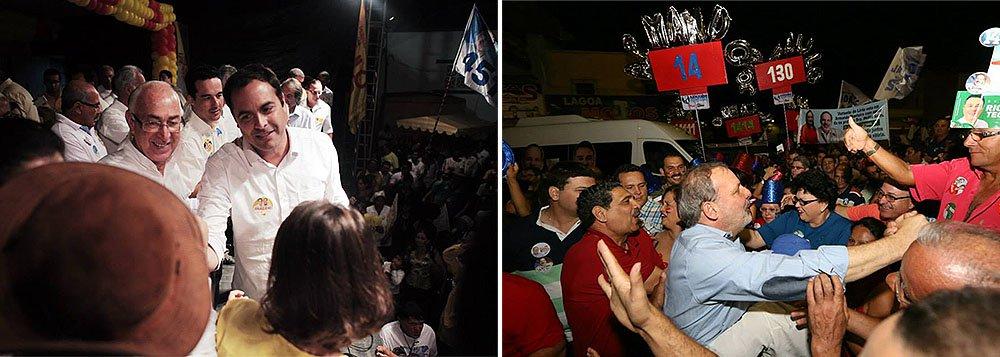 De acordo com a segunda prestação de contas do partido ao TSE, as doações para a campanha de Paulo Câmara somam R$ 11.679.786,74; em seguida aparece o candidato do PTB, Armando Monteiro Neto, cuja campanha arrecadou R$ 8.853.000,00; na disputa pelo Senado, oex-ministro Fernando Bezerra Coelho (PSB) declarou ter arrecadado pouco mais de R$ 4 milhões; já a arrecadação de João Paulo (PT) passou de R$ 10 mil para R$ 356 mil