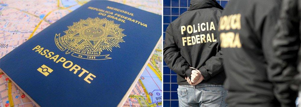 A Polícia Federal prendeu um homem acusado de crimes de estelionato, falsificação de documento particular e falsificação de selo público; ele agia na Praça Sete, no centro de Belo Horizonte, e está preso na Penitenciária Nelson Hungria