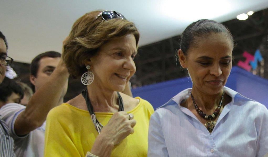 """Candidata do PSB diz que Neca Setubal, herdeira do Itaú ecoordenadora de seu programa de governo, é vítima da """"visão autoritária da esquerda"""", que, segundo ela, protege quem está do lado deles, mas """"sataniza"""" quando se tem outra escolha; Marina também defendeu que a autonomia do Banco Central """"é para controlar a inflação, conquistar credibilidade para o Brasil voltar a crescer e preservar o emprego"""""""
