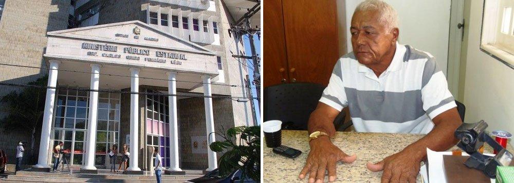 O Ministério Público do Estado de Alagoas (MPE/AL) está pedindo o afastamento do prefeito de São Luís do Quitunde, Eraldo Pedro da Silva; ele é acusado de irregularidades no Instituto da Previdência dos Servidores Públicos de São Luís do Quitunde (IPREVSLQ) no montante de R$ 21 milhões