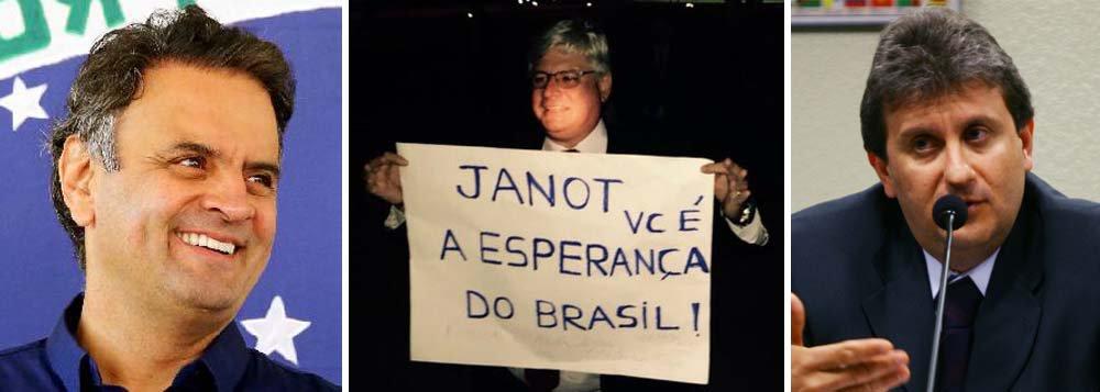 Após dez dias de muito suspense, em que circulou a informação em Brasília de que o senador Aécio Neves (PSDB-MG) estaria envolvido na Lava Jato, o procurador-geral da República, Rodrigo Janot, pediu o arquivamento do caso; Aécio foi citado num dos depoimentos do doleiro Alberto Youssef, mas o teor ainda é desconhecido; o mais provável é que se trate de uma operação envolvendo o doleiro e a Light, subsidiária da Cemig; negócio foi considerado suspeito pelo juiz Sergio Moro, do Paraná, mas também não foi investigado