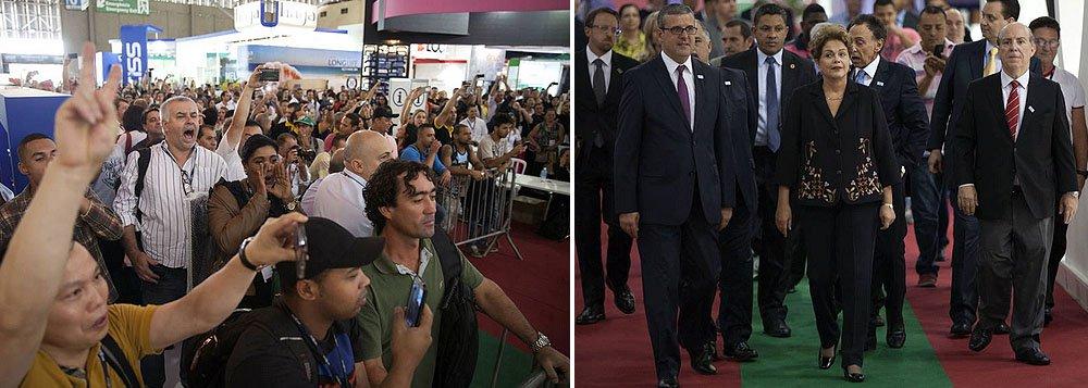 """""""O governo considera que a presidente da República foi vítima de uma armadilha preparada para que a vaia ocorresse diante de toda a imprensa"""", diz Eduardo Guimarães, do Blog da Cidadania"""