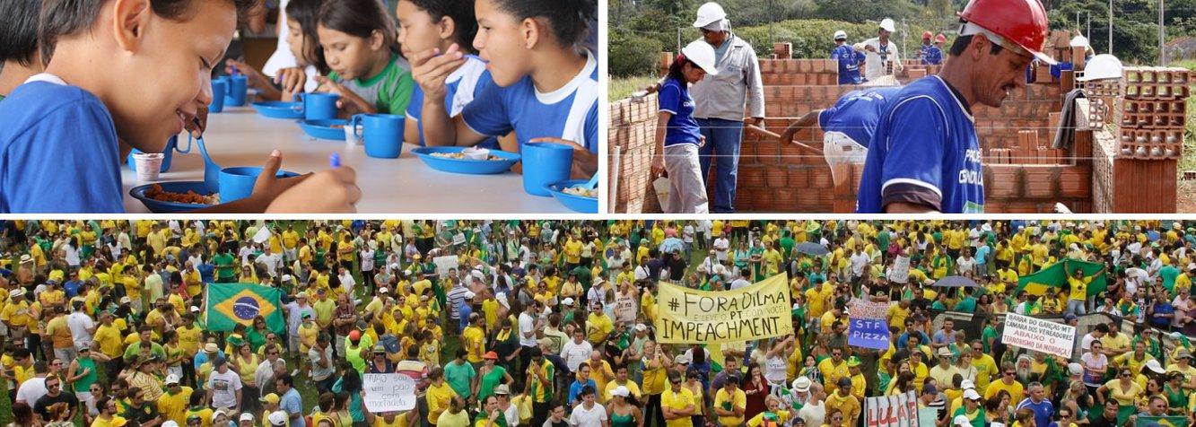 """""""Uma visita à raiva e ao pessimismo das últimas semanas, que não pode esconder o legado vitorioso dos doze anos de governo Lula-Dilma""""; crônica de Paulo Moreira Leite"""