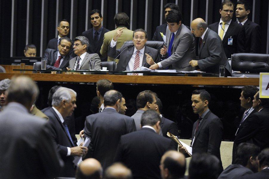 Resultado foi divulgado pelo presidente do Senado e da Mesa do Congresso, Renan Calheiros; havia a expectativa de derrubada de pelo menos um deles, o que estipula regras para a criação, a incorporação, a fusão e o desmembramento de municípios
