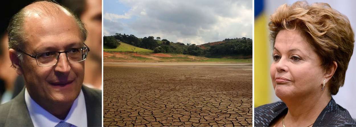 """Governador de São Paulo vai a Brasília e, em reunião com a presidente, pede R$ 3,5 bilhões para dar andamento a oito obras de infraestrutura para abastecimento de água; algumas já ficarão prontas em 2015, assegura Geraldo Alckmin (PSDB); outras, apenas daqui a três anos; ele voltou a rechaçar necessidade de racionamento; """"São Paulo enfrenta esta que é a pior seca dos últimos 84 anos com planejamento, com obra e com uso racional da água"""", afirmou; e negou que já tenha rejeitado ajuda do governo federal; nova reunião está marcada para segunda-feira, quando secretários de Alckmin detalharão as obras"""