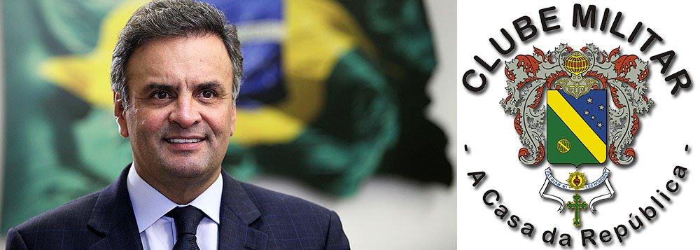"""Em nota, grupo formado por oficiais da reserva diz que, """"apesar de esquerda"""", presidenciável tucano Aécio Neves afasta o país """"de uma possível mudança de regime que nos colocaria à margem da democracia"""" e interrompe """"o projeto de poder representado pelo PT, em marcha acelerada para a sovietização do país""""; afirma ainda que a vitória do PSDB possibilitaria """"o importantíssimo desaparelhamento do Estado, hoje, executado em prol das intenções do PT"""""""
