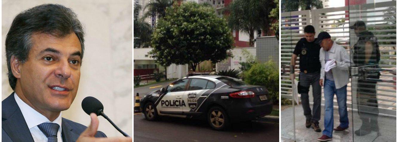 O auditor da Delegacia da Receita Estadual de Londrina, Ricardo de Freitas, foi preso pelo Gaeco (Grupo de Atuação e Combate ao Crime Organizado) como desdobramento da Operação Publicano; na residência do acusado, em Londrina, foram apreendidos R$ 13,3 mil e US$ 1,4 mil em espécie; oGaeco informa que duas pessoas estão foragidas, portanto, a operação ainda não foi finalizada