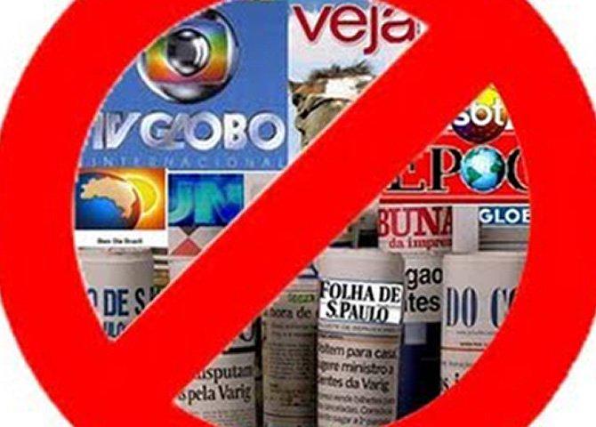 O Brasil não vai aceitar ser destruído pela mídia