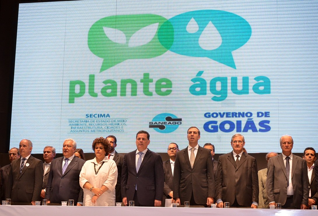 Governador Marconi Perillo na comemora��o ao Dia da �gua. Fotos: Eduardo Ferreira Data: 26.03.2015