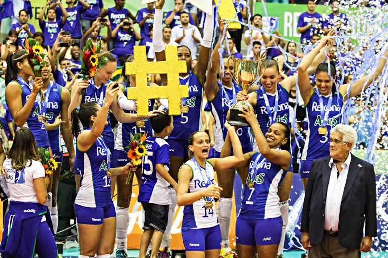 Os amantes do voleibol não cansaram de postar no insta durante a final da Superliga que foi vencida pelo Rio por 3 a 0