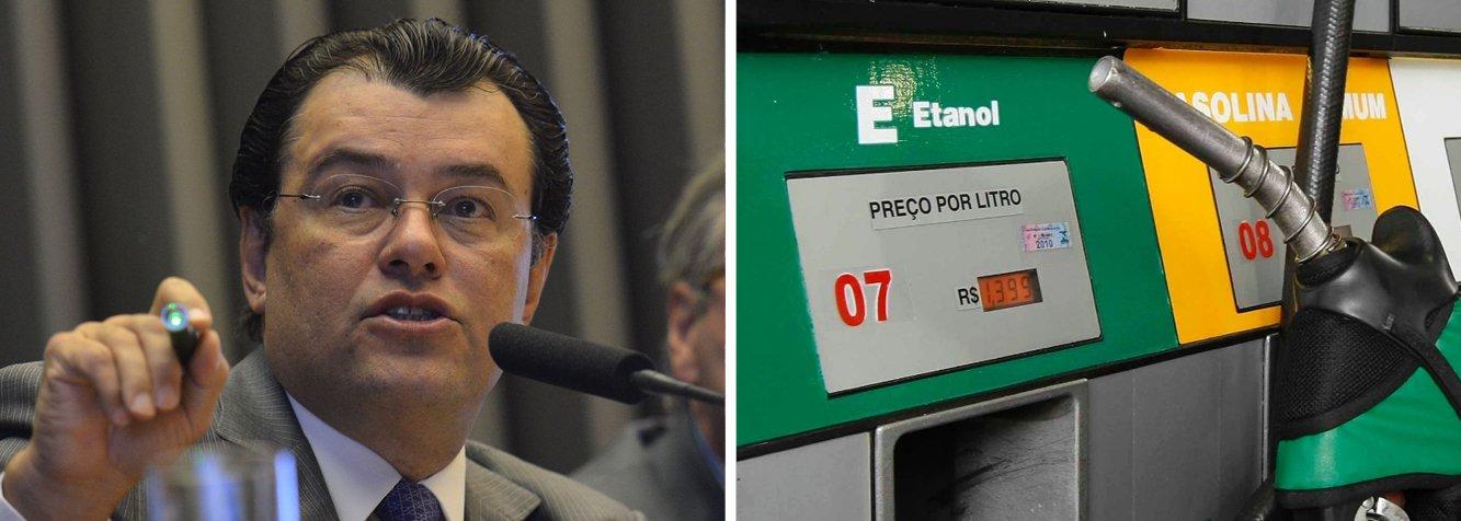 O aumento da mistura de etanol na gasolina para 27%, ante os 25% atuais, começará a valer em 16 de março; informação é doministro de Minas e Energia, Eduardo Braga, quedisse nesta quarta-feira, 4; novo percentual, que ajuda a indústria sucroalcooleira,começa a valer no próximo dia 16 de março