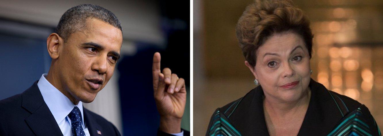 Presidente dos Estados Unidos reenviou convite à presidente Dilma Rousseff para fazer uma visita de Estado a Washington, em um passo diplomático que autoridades norte-americanas esperam que leve a um período de maior comércio entre as duas principais economias das Américas; Dilma faria uma visita ao país em outubro de 2013, mas cancelou a viagem após revelações de que a agência norte-americana teria espionado suas comunicações pessoais; o vice-presidente dos EUA, Joe Biden, refez o convite a Dilma em um telefonema em 13 de março; visita seria a primeira de um presidente do Brasil a Washington desde 1995