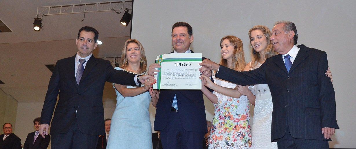 Sess�o Solene de Diploma��o dos Eleitos em 2014 pelo Tribunal regional Eleitoral-TER. Fotos: Eduardo Ferreira Data: 19.12.2014