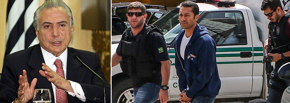 """Empresário Fernando Soares, conhecido como Fernando Baiano e apontado como 'operador' do PDMB em negócios com a Petrobras, """"não tem nada a ver"""" com o partido, afirmou o vice-presidente da República, Michel Temer"""