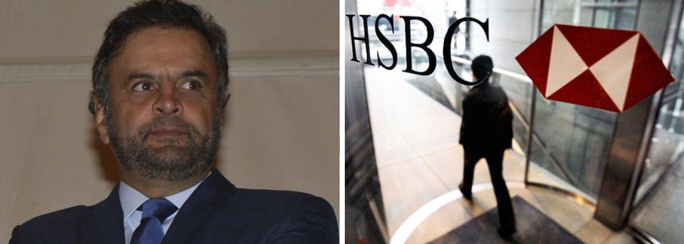 """O senador Aécio Neves disse nesta terça (3) que a bancada tucana quer indicar nomes para integrar a comissão parlamentar de inquérito, que investigará as contas do HSBC;""""Fica portanto agora esclarecido que o PSDB não apenas apoia a iniciativa do senador Randolfe, como participará, com quadros qualificados que tem, de mais essa CPI"""", afirmou"""