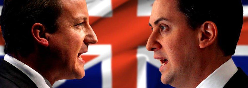 Pesquisa de intenção de voto do instituto Lord Ashcroftaponta que o primeiro-ministro britânico, o conservador David Cameron, e o rival trabalhista, Ed Miliband, seguem em impasse no dia da eleição mais imprevisível da Grã-Bretanha em uma geração