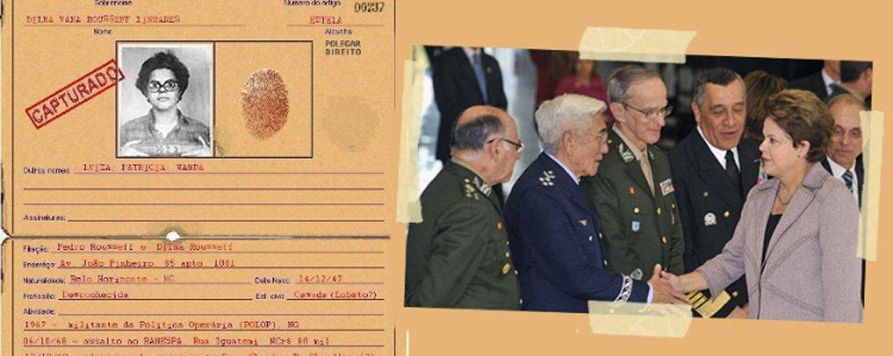 Generais omitiram, naresposta de 455 páginas em que negam que houve torturanas dependências militares, até os 22 dias que a presidente Dilma Rousseff amargou no DOI CODI; quem está mentindo?
