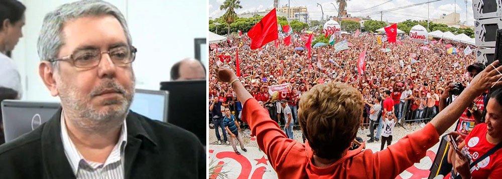 """Colunista Ricardo Melo cita a batalha pela ciclovia do governo de Fernando Haddad em São Paulo: """"transformar isto em bandeira de governo numa capital de tamanhas carências revela, como diria o povo, falta de senso de noção""""; no plano federal, diz que, além do caso Petrobras, o partido submete-se a um papel secundário, de coadjuvante, também frente a escândalos como a lista do HSBC e a recente Operação Zelotes"""